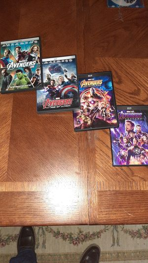All four Avengers DVDs(Open to offers) for Sale in Morgantown, WV