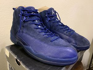 Jordan 12 deep blue 2016 sz 13 for Sale in San Jose, CA