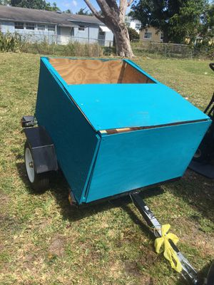 Small utility trailer, like new! for Sale in Miami, FL