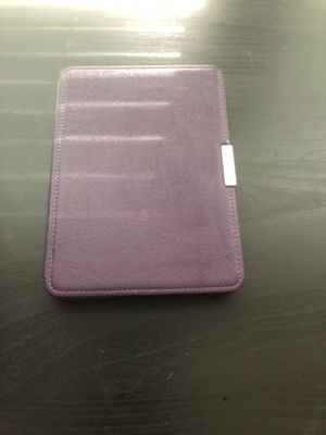 Kindle Paperwhite with Purple Leather case for Sale in Boston, MA