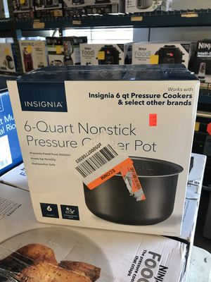 Replacement pot for insignia 6 quart pressure cooker instant pot for Sale in Upland, CA