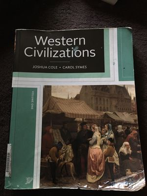 Western Civilizations Volume One for Sale in Fort Worth, TX