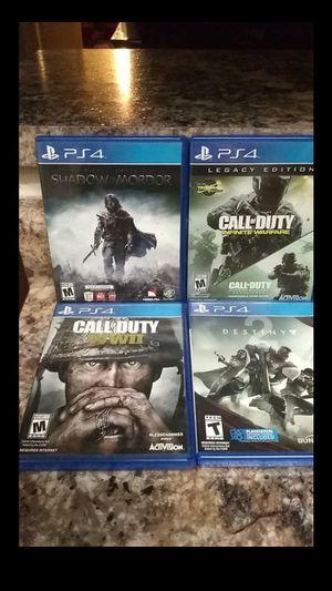 PS4 GAMES $30 EACH for Sale in Phoenix, AZ
