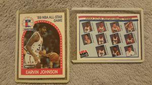 "1989 NBA ALL STAR CARD! Ervin ""Magic"" Johnson, and 1992 USA Dream Team Card for Sale in Modesto, CA"