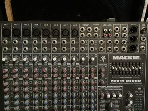 Mackie mixing board for Sale in Baltimore, MD