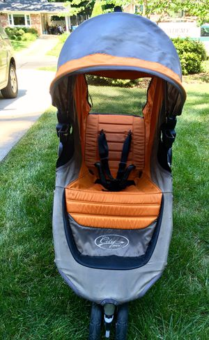 Baby Jogger City Mini Stroller with Luxury Handle Grip, Etc. for Sale in Rockville, MD