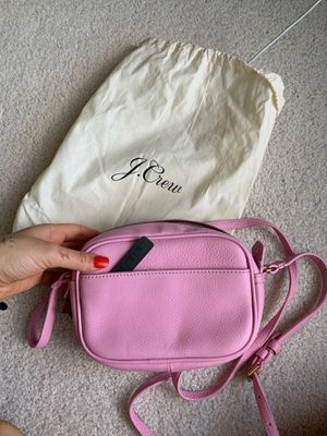 J-Crew pink crossbody bag! for Sale in Fairfax, VA