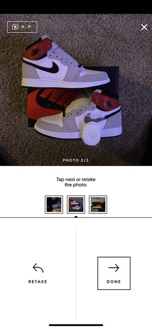 Jordan 1 Retro High OG GS Light Smoke Grey - Size 7Y In Hand! for Sale in Olympia, WA