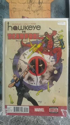 Hawkeye Vs. Deadpool #000 Frist appearance of Jane Foster for Sale in Norfolk, VA