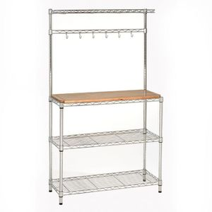 Chrome Bakers rack. Wooden Board not included. for Sale in Queens, NY