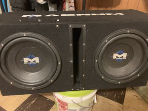 """Two 10"""" 1000w subwoofer great working condition for Sale in Capitol Heights, MD"""