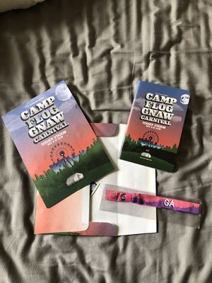 Camp Flog Gnaw GA Ticket for Sale in Greenbrae, CA