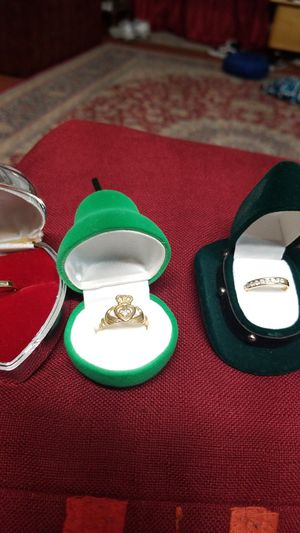 3 GOLD RINGS for Sale in Springfield, VA