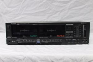 Sharp dual cassette stereo RT 1010 for Sale in Raleigh, NC