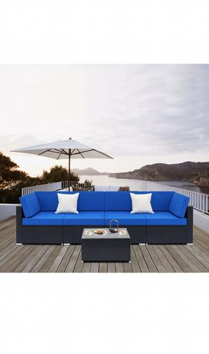 Outdoor furniture, 7pc patio set, SALE! for Sale in Maricopa, AZ