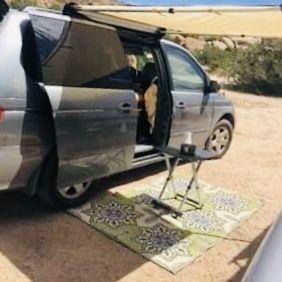 Stealth camper-van evacuation vehicle! Honda Odyssey 2000 for Sale in San Francisco, CA