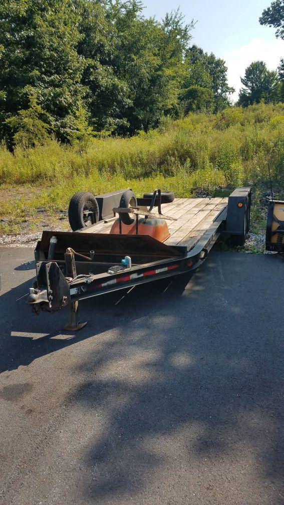 21 ft trailer 16 ft bed..