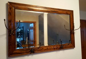 Wood Framed Beveled Mirror for Sale in Littleton, CO