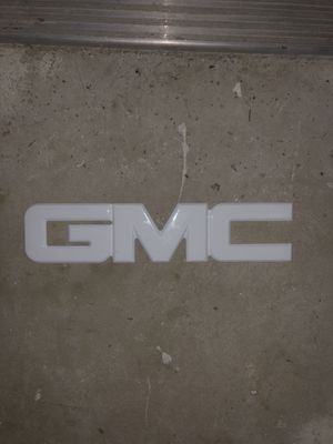 2007-2014 GMC Sierra 1500 white grille emblem for Sale in Greenville, NC
