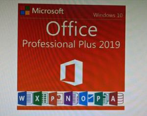 Ms office 2019 pro Plus DVD or USB for install for Sale in San Jose, CA
