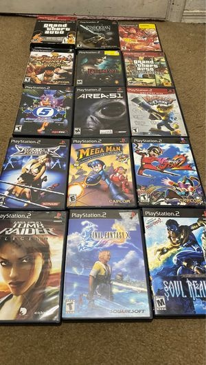 PS2 Games Lot for Sale in Phoenix, AZ