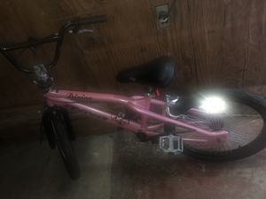 "22"" DYNO Divine Pink BMX GT girls Bike with helmet and a bike lovk. Crossposted for Sale in Hillsboro, OR"