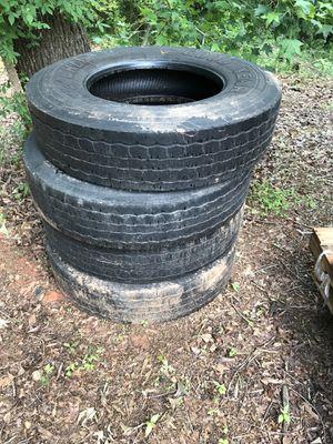 Goodyear tractor trailer tires for Sale in Ellenwood, GA