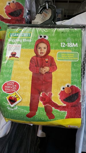 Sesame street Elmo costume for Sale in Downey, CA