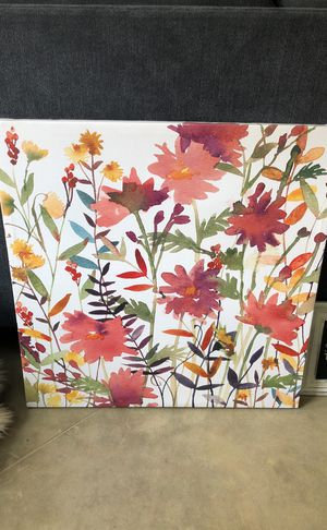 Floral Canvas for Sale in Houston, TX