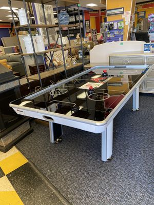 New Atomic Black and Grey Air Hockey Table for Sale in Virginia Beach, VA