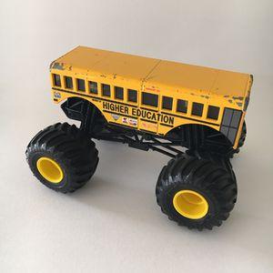 Hot Wheels MONSTER JAM School Bus. (Cool Bus) for Sale in Fort Pierce, FL