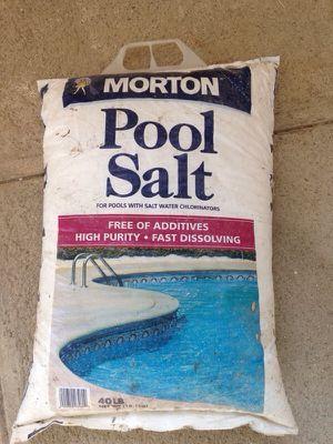 Morton Pool Salt 40 LB for Sale in Seattle, WA