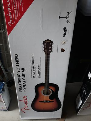 Fender FA-125 Acoustic Guitar for Sale in Murphy, TX