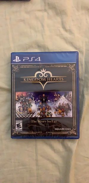 Kingdom Hearts The Story So Far for PS4 for Sale in Fairlawn, OH