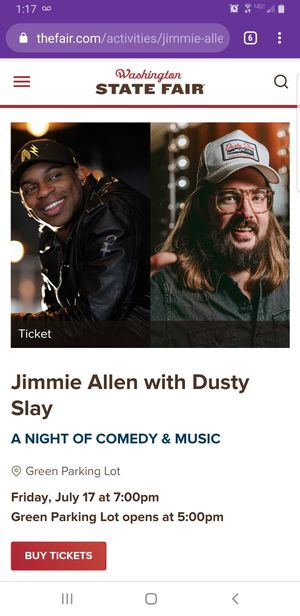 Jimmie Allen for Sale in Seattle, WA