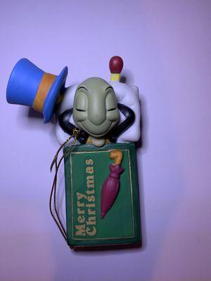 Grolier Disney Jiminy Cricket Gold Edition Ornament Porcelain for Sale in Lake Wales, FL