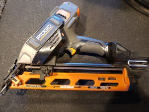 Rigid Angle 15 gauge nail gun 18v for Sale in Tacoma, WA