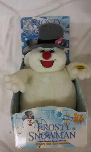 1977 Frosty the Snowman animated and singing Plush toy for Sale in Madeira Beach, FL