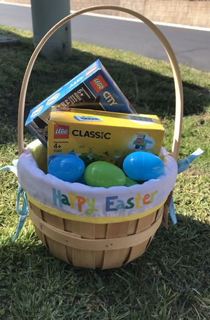 Easter basket for Sale in Riverside, CA