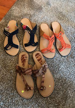 Sandalias de piel de Mexico nuevos for Sale in Los Angeles, CA