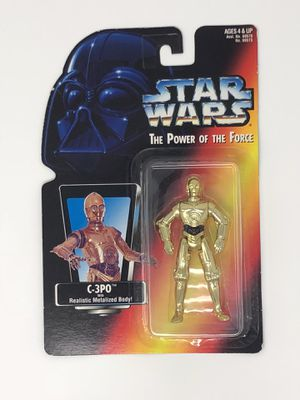 1997 Kenner Star Wars C-3PO Toy for Sale in Houston, TX