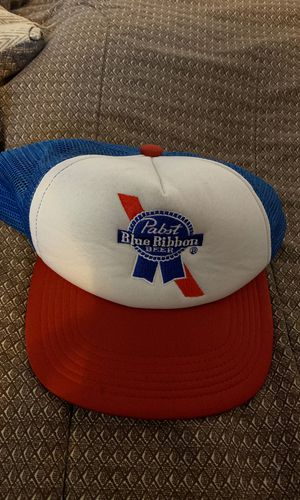 Used, Pabst blue Ribbon trucker hat for Sale for sale  Los Angeles, CA