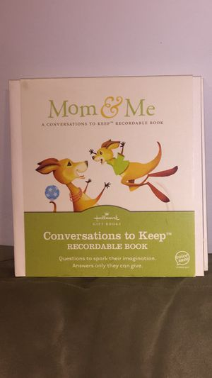 Hallmark mommy and me recordable book for Sale in Hartford, CT