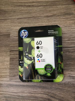HP printer ink color and black for Sale in Santa Barbara, CA