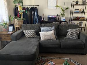 Living Spaces Couch with chaise for Sale in Covina, CA