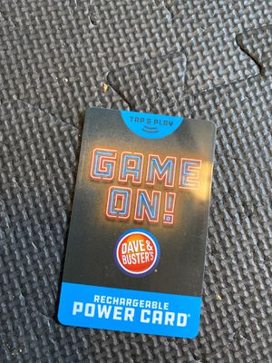 dave and busters power card with 190.2 chips for Sale in Waterbury, CT