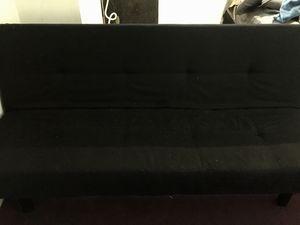 Black Futon for Sale in Silver Spring, MD