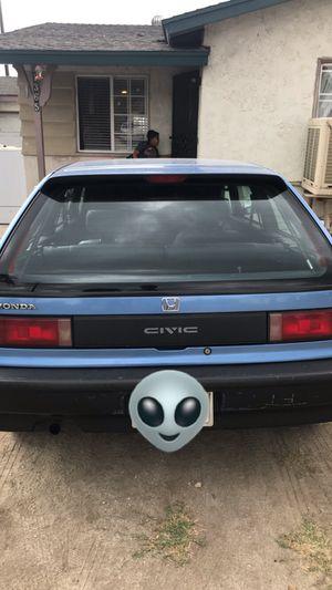 1991 Honda Civic hatchback EF for Sale in Redlands, CA
