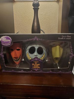 Nightmare before christmas masks for Sale in San Jose, CA