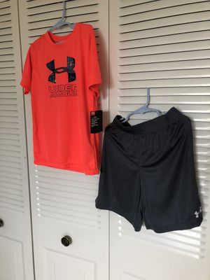 Under Armour 2pcs size 7 for Sale in Hollywood, FL